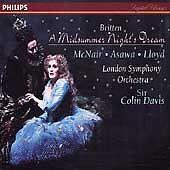 Britten - A Midsummer Night's Dream / McNair, Asawa, Lloyd, Bostridge, Ainsley,