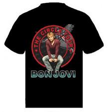 Bon Jovi Circle Tour T-Shirt  100% cotton BLACK MEDIUM NEW