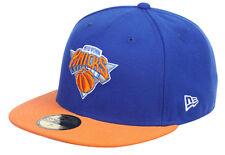 New Era NBA New York Knicks  5950 Basic Fitted Team Basecap Cap Kappe