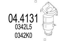 MTS Katalysator PEUGEOT 107 CITROEN C1 TOYOTA AYGO 04.4131