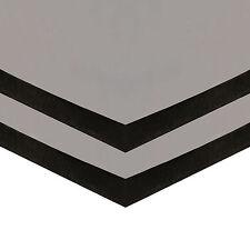 Adhesive Back Sponge Foam Neoprene EPDM BLACK Rubber Sheet 1.5 mm to 25 mm Thick