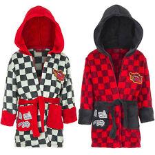 Los niños jóvenes bata Disney Cars gris rojo acogedor blando 98 104 116 128 #145