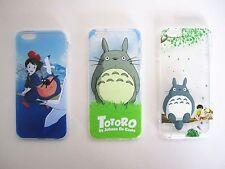 Studio Ghibli Totoro Kiki's Delivery Service Soft iPhone Cases Cover Protector