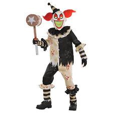 Karneval Kostüm Jungen Gr. 134 158 170 Alptraum Clown Kostüm mit Maske Kinder