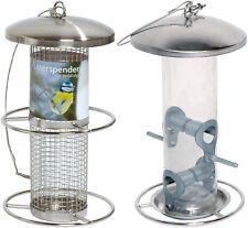 runde futterspender vogelfutterstation f r vogelh user ebay. Black Bedroom Furniture Sets. Home Design Ideas