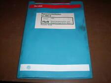Werkstatthandbuch VW Bus LT Diesel Diesel Direkt Einspritzanlage