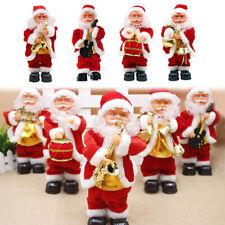 27cm Tall Standing Animated Musical Dancing Santa Claus Christmas Figurine