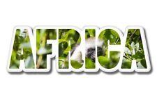 Africa Wildlife Nature Vinyl Sticker - SELECT SIZE