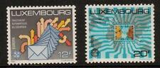 LUXEMBOURG SG1229/30 1988 EUROPA  TRANSPORT & COMMUNICATION MNH