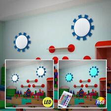 Ensemble de deux LED RVB enfants Luminaires muraux changement de couleur