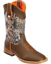 Double Barrel Children Boys' Buckshot Cowboy Boot Square Toe - 44518222