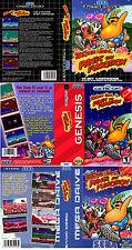 ToeJam & Earl 2 Sega Mega Drive Genesis NTSC PAL Replacement Box Art Case Insert