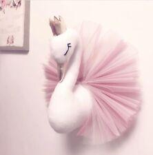 Baby Princess Swan Stuffed Toys Wall Art Hanging Doll Girls Bedroom Decor GROOVY