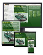 Peugeot 106 Petrol & Diesel (1991-2004) J to 53 Haynes Online Manual