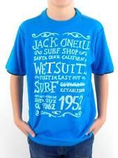 O'Neill Camiseta Camisa manga corta Matool blau Texto Cuello Redondo NUEVO!