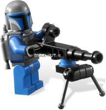 LEGO STAR WARS MANDALORIAN FIGURE W/ MACHINE GUN +GIFT  FAST - 7914 - 2011 - NEW
