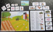 Historietas ~ Viejo Macdonald Had A Farm ~ Nursery Rhymes ~ eyfs-KS1 aprendizaje ~ Color