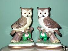 2 ARTMARK Portugal Owl Bird Figurine Statue