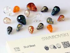 Genuine swarovski 750 perles cristaux de crâne * Plusieurs tailles et couleurs