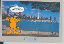 """GARFIELD-CHICAGO 4""""X6"""" CARD (G-14)"""