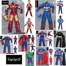 Spiderman Capitan America Ant-man Hulk Ironman Carnevale Boy Costumes SER001