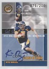 2003 Press Pass JE Class of Autographs Autographed #N/A Kyle Boller Auto Card