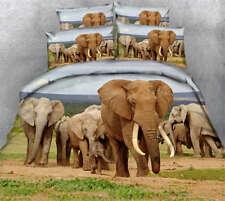 Long Nose Elephant 3D Printing Duvet Quilt Doona Covers Pillow Case Bedding Sets