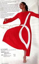 NWT PRAISE DRESS LITURGICAL DANCE Fish Detail Full Circle skirt Red Ladies szs
