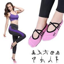Fitness Ladies Girls Women Sport Pilates Yoga Non Slip Grip Socks