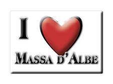 CALAMITA ABRUZZO FRIDGE MAGNET MAGNETE SOUVENIR LOVE MASSA D'ALBE (AQ)--