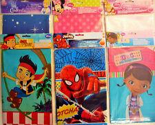 Disney/Marvel Kids Party Table Cover Princess, Cinderella, Jake, Spiderman, Doc