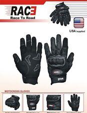 RAC3 Motorcycle Enduro Racing Motorbike Motocross Gloves Full Finger Protection