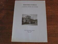Presbyterian Pathways First Presbyterian Church Cisco Texas History 1881-1981