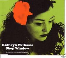 KATHRYN WILLIAMS Shop Window RARE MIX & VIDEO CD single