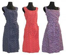 Kleid Trägerkleid Hauskleid Seersucker Gartenkleid Strandkleid Baumwolle