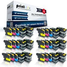 30 x Impresora Cartuchos de tinta para Brother lc-12e XXL CASETTES - Serie Pro