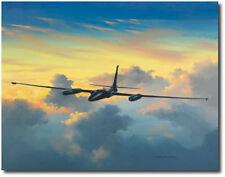 U-2 Sunset by David Poole - Lockheed U-2 Dragonlady - Aviation Art Print