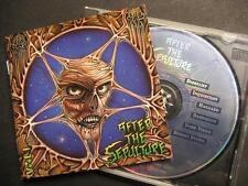AFTER THE SEPULTURE - RADATION RECORDS SAMPLER - CD -CASKET HAGGARD END OF GREEN
