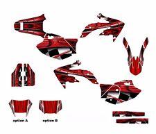 2005 - 2015 CRF450X 450X Graphics Sticker kit #2001 Red  Free Custom Service