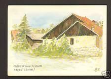ARCON (25) FERME LE LONG DU DOUBS par BOUGEAULT-ZELWER