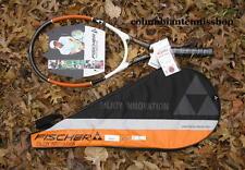 New Fischer Smash Ti. Tennis Racket 102 Titnium strung or unstrung with case