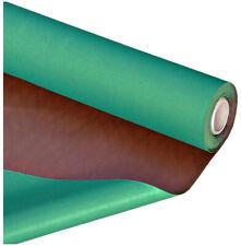 Pelle finta ecopelle tessuto sintetico marrone double verde rivestimento poker