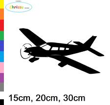 Flugzeug Aufkleber Auto Wandtattoo Flieger Pilot Probeller Sticker Decal  153/4