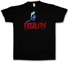 VINTAGE Sub-Zero Fatality T-SHIRT-SCORPION MK Raiden MORTAL KOMBAT T-shirt