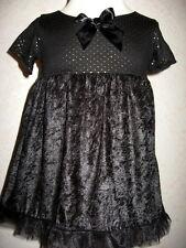 NEW Girls Black,gold,blue,skulls,polkadots headband  Dress,Goth,,Party,Gift set