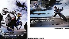 BMW Chris Pfeiffer Streetbike Freestyle Karte 2006 card Motorrad Motorsport