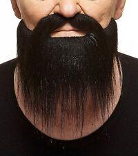 High quality Long Boxed false, self adhesive beard