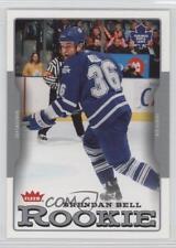 2006-07 Fleer #217 Brendan Bell Toronto Maple Leafs RC Rookie Hockey Card