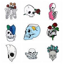 -Beutel Abzeichen aus Punk Pins für Emaille Halloween Gothic Lapel Pin Brosche