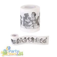 Sexy Toilettenpapier Erotisch Lustig Geschenk Scherzartikel Party Bauchladen JGA